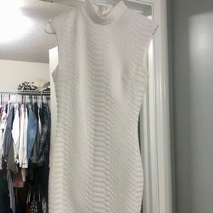 White beautiful dress from hot Miami styles